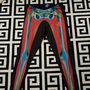 Rita Ora for Adidas skeleton leggings